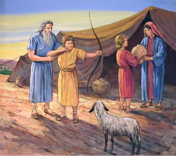 Esau, Jacob and their Parents